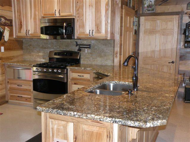 Beautiful Tan Granite Countertop Jasper GA